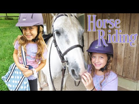 Horse Riding Lesson at New Stables!