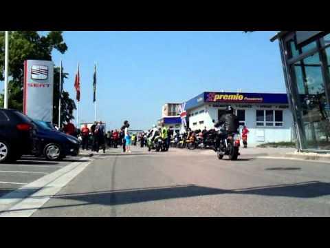 Triumph-moto sraz 2011 Hradec Králové