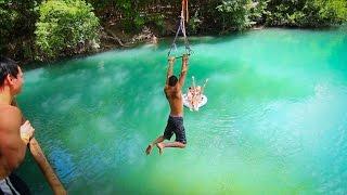 Epic Texas Rope Swings Flips