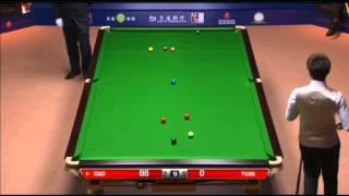 Xiao Guodong - Yuan Sijun (Full Match) Snooker Shanghai Masters 2013 - Wildcard Round