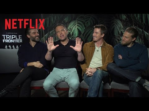 Behind the action of Triple Frontier   Netflix