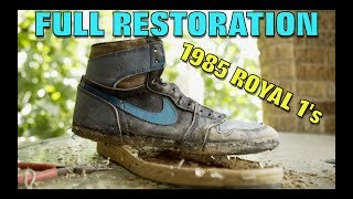 Video OG 1985 ROYAL 1's FULL RESTORATION! (TRASH TREASURE) MP3, 3GP, MP4, WEBM, AVI, FLV Maret 2019
