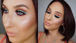 Colorful Eyeliner | Spring & Summer Makeup Tutorial by Jaclyn Hill