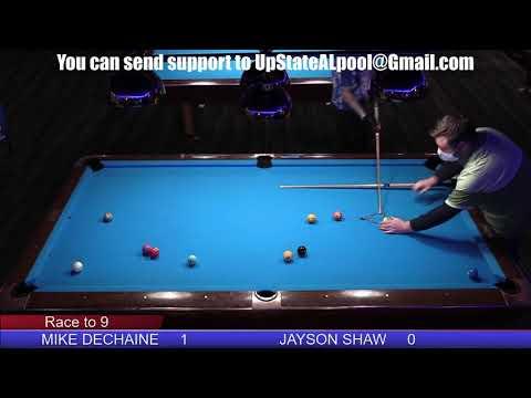 US 1 Billiards February Pro Am - Jayson Shaw vs Mike Dechaine - Winners Side