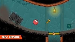 Red Ball 4: Volume 5 - Game Walkthrough (All levels 61-74 + Boss Fight)