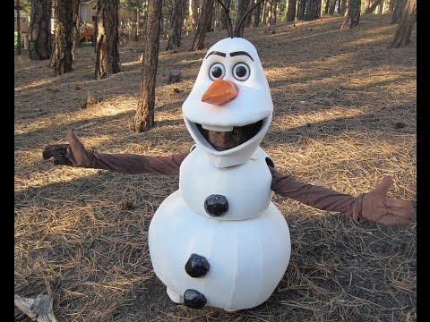 Olaf Homemade Halloween Costume