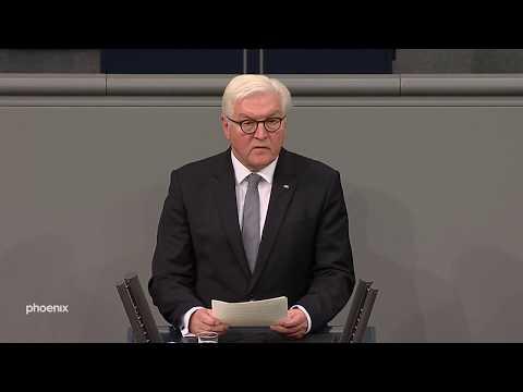 Volkstrauertag Rede von BundesprГsident Frank-Walter Steinmeier im Bundestag