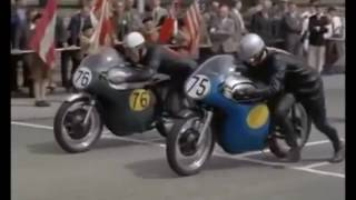 The famous race in 1958 footage.