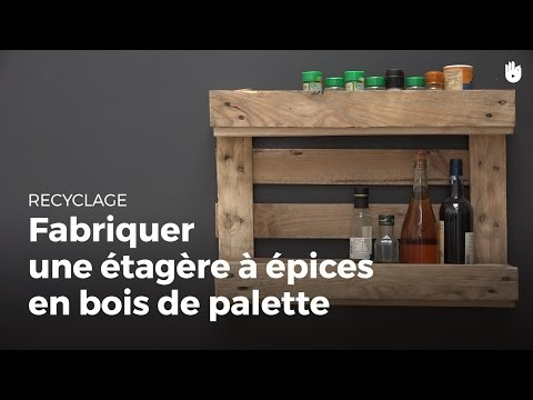 Search result youtube video palette en bois - Comment faire une etagere en bois ...