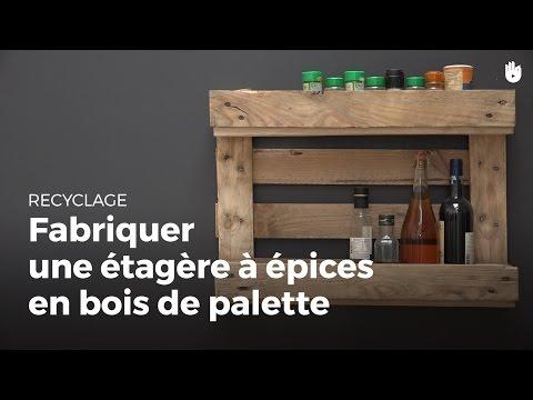 Search result youtube video palette en bois - Comment fabriquer une etagere en bois ...