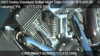 10. 2007 Harley-Davidson Softail Night Train FXSTB  for sale in