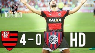 Flamengo 4 x 0 San Lorenzo - GOLS - Taça Libertadores 08/03/2017 Flamengo 4 x 0 San Lorenzo - GOLS - Taça Libertadores...