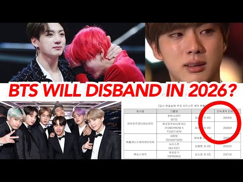 BTS will disband in 2026?