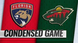 12/13/18 Condensed Game: Panthers @ Wild by NHL