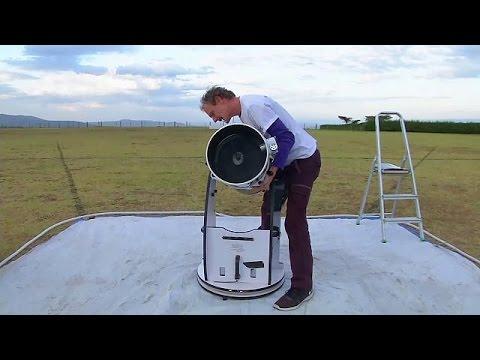 Κένυα: Το περιοδεύον τηλεσκόπιο μυεί τα παιδιά στον κόσμο της αστρονομίας