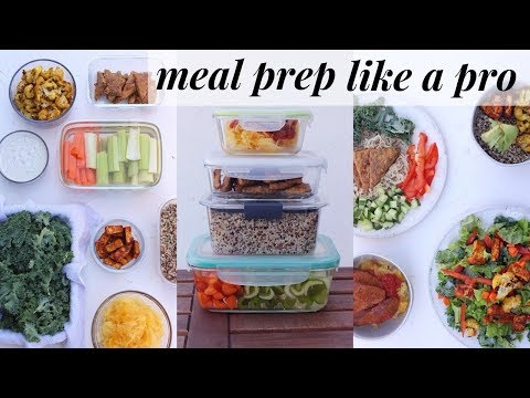 MEAL PREP HACKS - for flexible healthy eating