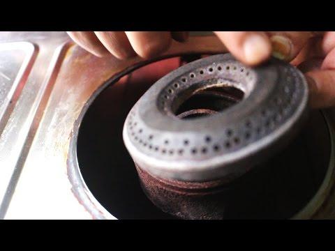 घर में गैस स्टोव बर्नर को रिपेयर कैसे करें। Repair Gas Stove Burner at Home