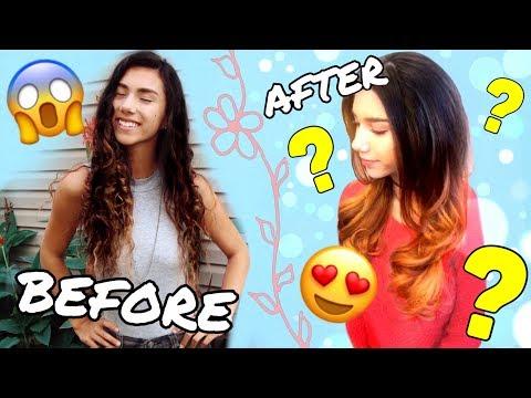Hair salon - MY CRAZY HAIR TRANSFORMATION! Omagi Salon Spa  Abigail Sunshine
