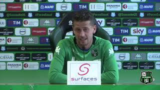 Sassuolo, Marcello Gazzola in vista della gara col Verona