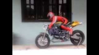 1:05 Scale RC Nitro Motor Bike (PNP) (Warehouse UE