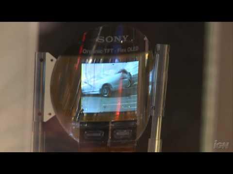 CES 2009: Sony OLED Flex (видео)