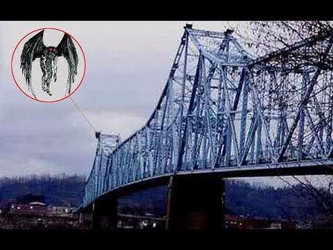 【老烟斗】西方三大诡异生物之一,揭秘神秘的天蛾人目击事件!