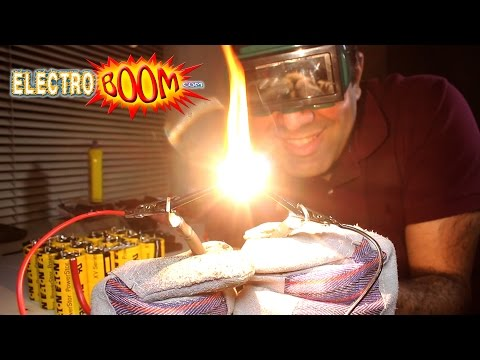 ElectroBOOM Demonstrates The Awesome Properties of