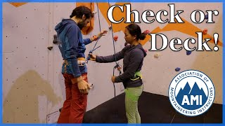 Climbing Partner Checks - Check or Deck by The Climbing Nomads