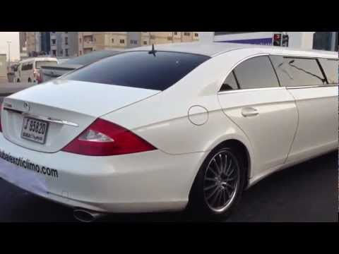 CLS Mercedes-Benz stretch limo