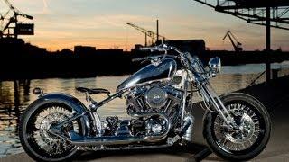 Harley Davidson Beach Cruiser Bobber Springer Softail By Dr Mechanik