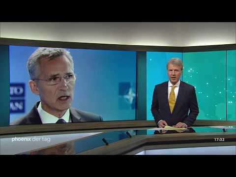 Pressekonferenz mit Jens Stoltenberg zum NATO-Verteidigungsministertreffen am 13.02.19