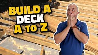 How To Build A Deck DIY