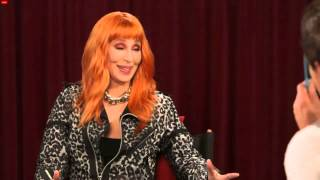 Cher Livestream Interview Backstage At The Voice 2013