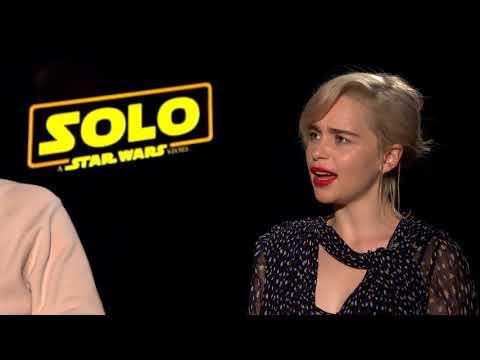 Solo Interview: Paul Bettany & Emilia Clarke
