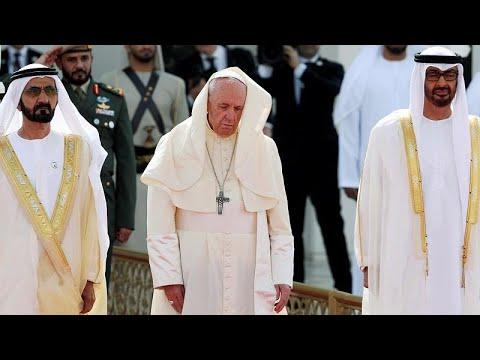 Ιστορική επίσκεψη του Πάπα στα Ηνωμένα Αραβικά Εμιράτα…