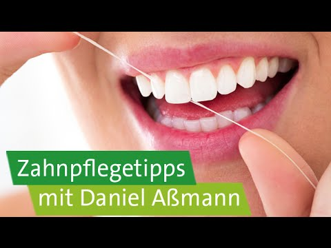 Zahnpflegetipps mit Daniel Aßmann