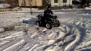 8. Yamaha Wolverine snow fun
