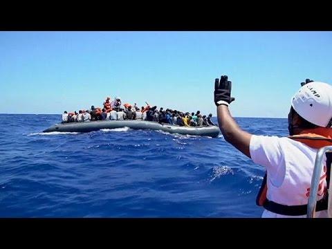 Unas 5 mil personas han sido rescatadas en el Mediterráneo