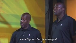 Jordan Kilganon Dunk Show at NBA House
