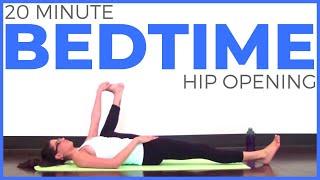 Video 20 Minute Bedtime Yoga Practice | Hip Opening MP3, 3GP, MP4, WEBM, AVI, FLV Maret 2018