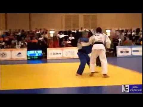Judo 2013: Gurbanli (AZE) - Verstraeten (BEL) [-50kg] (видео)