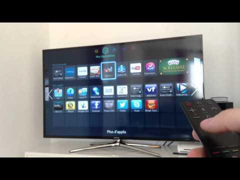 Présentation de ma TV SAMSUNG 55' SMART TV (LED et 3D)