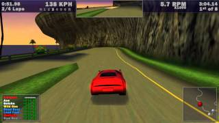 Need for Speed III: Hot Pursuit: Single Race: Aquatica [Fastest Lap Time] (PC) by Bartjaah