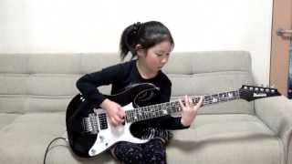 This Cute 8 Years Old Is A Guitar Goddess