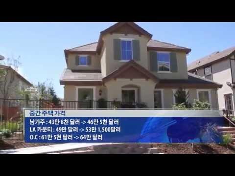 남가주 주택가격, '고공행진'  8.17.16 KBS America News