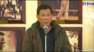 President Rodrigo Duterte on Monday night assured the public that the police officers behind the killing of 17-year old Kian Lloyd delos Santos would go to jail if proven guilty. Video by RTVM