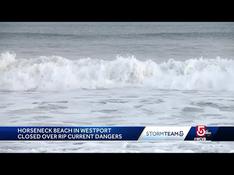 Dangerous rip currents expected as Hurricane Chris moves offshore