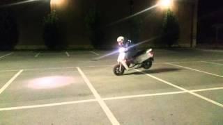10. Kymco  like 50 stunt