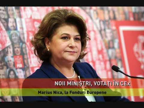 Paul Stănescu la Dezvoltare, Felix Stroe la Transporturi, Marius Nica, la Fonduri Europene