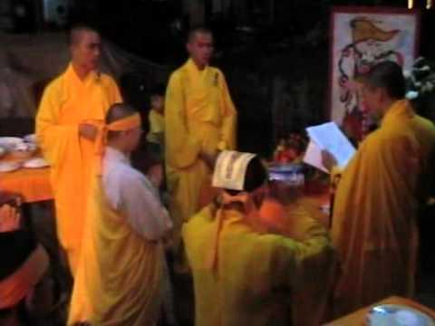 Lễ Tiểu Tường sư cô trụ trì chùa Phật Linh Thích Nữ Vạn Thanh phần 1